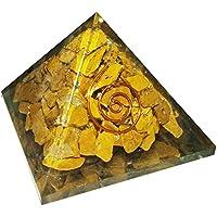 Gelb Jaspis Stone Pyramid Heilung Kristalle Reiki organite Pyramide Reiki Spritual Geschenk mit Rot Geschenk Tasche preisvergleich bei billige-tabletten.eu