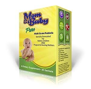 Mom and Baby Pure Multi-Probiotisches Pulver – Sichere