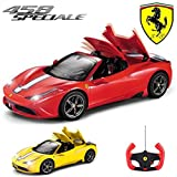 518yd15 0PL. SL160  BEST BUY #1Comtechlogic® CM 2201 Official Licensed 1:14 Ferrari 458 Italia Speciale Spider Radio Remote Controlled RC ElectricCar with Fully Remote Controlled Roof Mechanism   Ready to Run EP RTR (RED) price Reviews uk