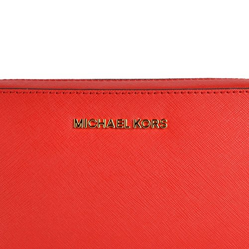 MICHAEL by Michael Kors Jet Set Travel Bright Red Crossbody Tasche Rot