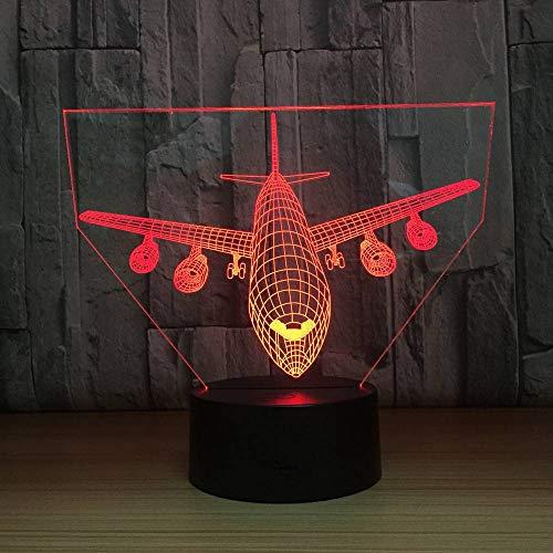 Air Switch 1-tisch-lampe (Mxlyr 3D Nachtlicht Steuerung Boeing Air Plane 7 Farbe Lampe Visuelle Led Für Kinder Touch Usb Tisch Lampara Lampe)