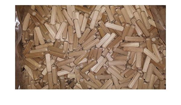 Chevilles en bois dur de h/être cannel/é 6/mm x 50/mm