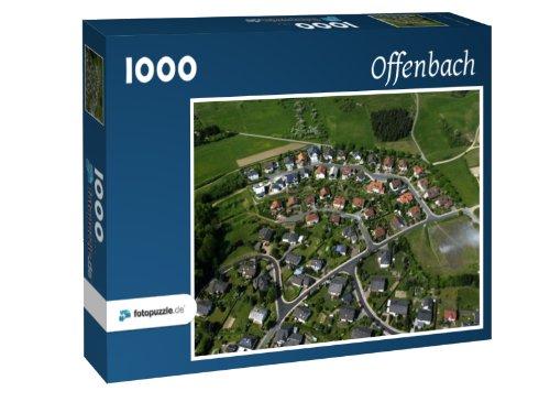 Preisvergleich Produktbild Offenbach - Puzzle 1000 Teile mit Bild von oben