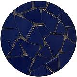 Eclats de mosaïque émaillée, 20-50mm, 1Kg Bleu outremer, BB01