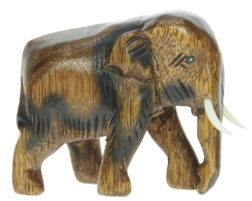 Namesakes Elefante Madera   Tallado Mano Madera