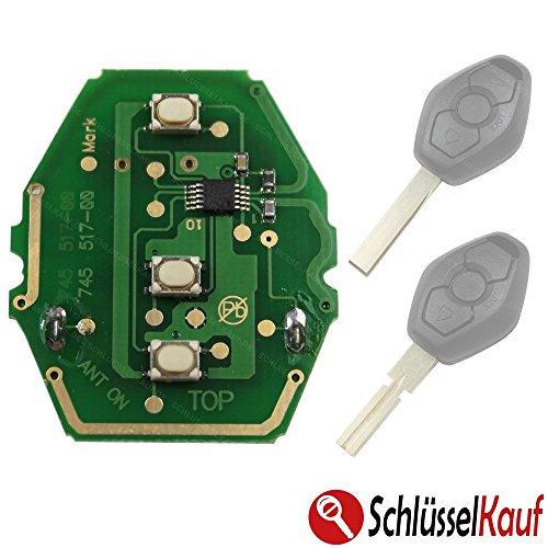 KONIKON Platine Sendeeinheit 434 MHz Autoschlüssel Fernbedinung Funk Ersatz Neu passend für BMW (Bmw Remote Start)