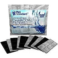 Filtres pour Fontaine à Eau PetSafe Drinkwell Chien/Chat, Lot de 10
