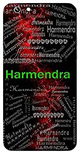 Harmendra (Moon) Name & Sign Printed All over customize & Personalized!! Protective back cover for your Smart Phone : Vivo Y51L