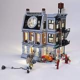 TETAKE Kit de LED Éclairage Jeu De Lumières pour Lego Marvel Super Heroes 76108 Modèle - (Lego Modèle Non Incluse)