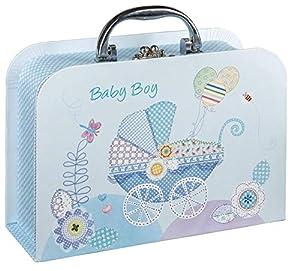 Idena 30211 - Caja de Regalo, diseño de bebé recién Nacido, Color Azul