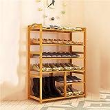 Shoe cabinet/Shoe rack Europäischer Moderner Einfacher mehrstöckiger Schuhaufbau Schuhständer (Länge 80cm * Breite 25cm * Höhe 106cm)