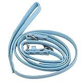 Yinew-Welpen-Leine und Halsband Hundegeschirr Leine Seil Normallack-Trainingsseil, blau