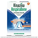 Respirabene Cerottini Nasali - 10 Classici Grandi