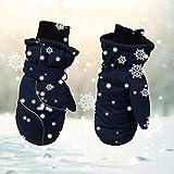hook.s Verdicken Sie Skihandschuhe, Winddichte und wasserdichte warme Handschuhe für Kinder