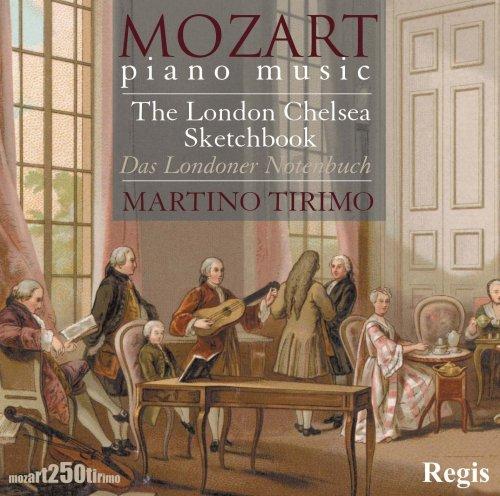 Mozart das Londoner Notenbuch