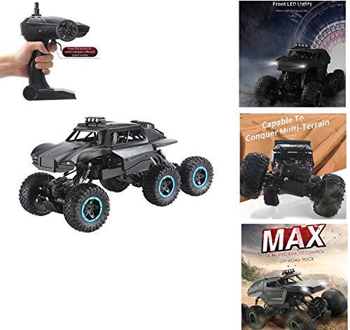 TETAKE Ferngesteuertes Auto, 1:12 RC Auto mit 2,4 GHz Fernbedienung, 6WD 36 km/h High Speed Funkfernsteuerung Elektro Offroad Fahrzeug für Kinder und Erwachsene