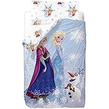 Disney Frozen Friends - Saco nórdico de 2 piezas para cama de 90 cm