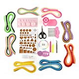 VERY100 76 Color Paper Quilling DIY Craft Kit 960 Strips 3mm Board Mould Crimper Comb Tools