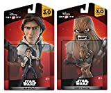 Disney Infinity 3.0 Star Wars: Han Solo + Chewbacca - A New Hope Figure Set NEW