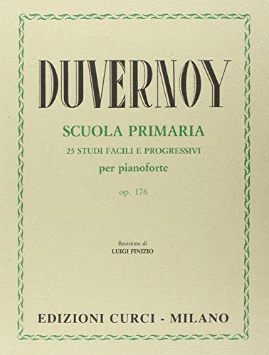 Scuola primaria del pianoforte opera 176. 25 studi facili e progressivi