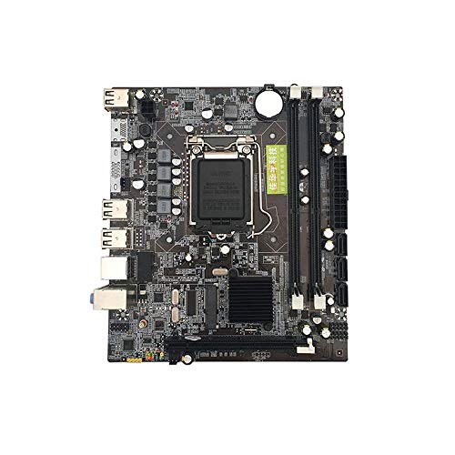 1156 Support (P55 computer motherboard 1156 pin Support For Core i3 i5 i7 Xeon series CPU black)
