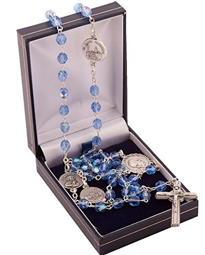 rosario-blu-zaffiroforte-rosario-rosario-del-vaticano-basilicas-rosario-di-romasaint-john-paul-medag