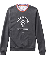 Le Coq Sportif Acf Crew Sweat M Dark Heather Grey, Sudadera para Hombre