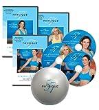 El entrenamiento físico completo 57 3 Set de discos con ejercicio de pelota