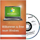 Windows 7 Home Premium 64Bit Deutsch SB Version für wiederaufbereitete PCs