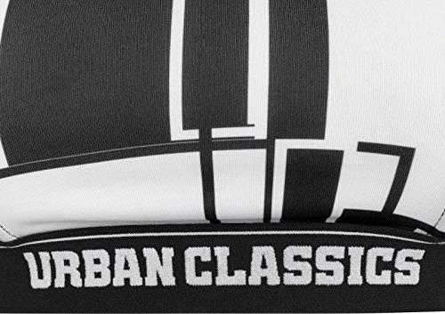 Urban Classics Ladies Graphic Sports Bra, Reggiseno Donna Nero