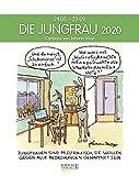 Jungfrau 2020: Sternzeichenkalender-Cartoonkalender als Wandkalender im Format 19 x 24 cm. -