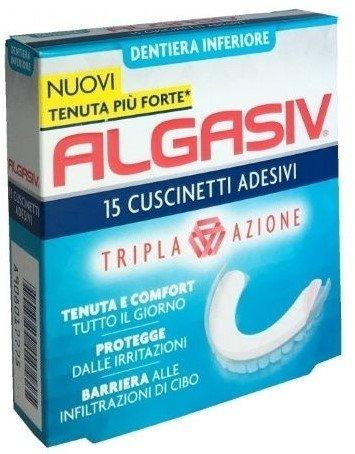 Algasiv Cuscinetti Adesivi Inferiori 15 Pezzi