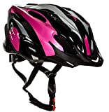 Sport Direct Bicycle Helmet Ladies, 56-58cm, Pink Bild