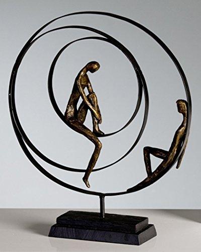 CASABLANCA Sculpture «Patience», en Bronze,...