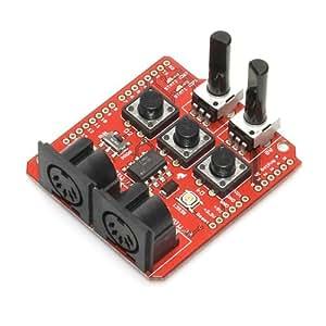 SparkFun Electronics DEV-09595 MIDI Shield Kit