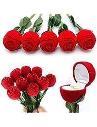 Meenaz Plastic Red Rose Gift Box 002