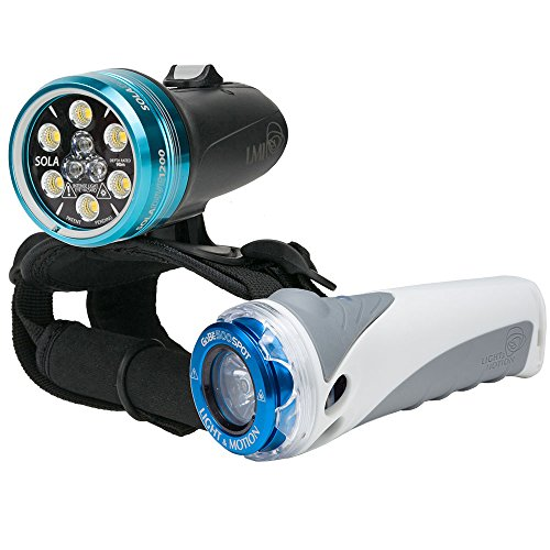 Light & Motion SOLA 1200 Combo Kit 1200 Light