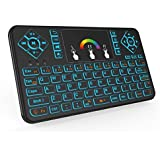 QQPOW Mini 2.4Ghz Touchpad Wireless Mouse With For Google Android Tv Box, Pc, Pad, Xbox 360, Ps3, Htpc, Iptv - Colorful