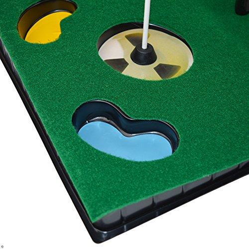 PGA TOUR Indoor Putting Set – Putting Matte mit Putter - 3