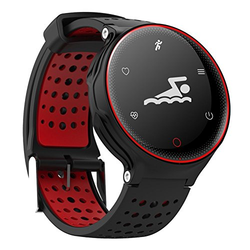 Waterproof Fitness Activity Tracker for Swimming Heart Rate Monitor Sleep Blood Pressure Oxygen Monitor Multi Sport Smart Watch Pedometer Bracelet Sedentary/Drink Reminder for Android & iOS