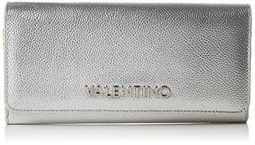 Mario Valentino Valentino by Damen Divina Geldbörse, Silber (Argento), 3.5x11.5x20 cm