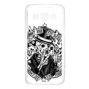 a AND b Designer Printed Mobile Back Cover / Back Case For Samsung Galaxy A3 (SG_A3_1407)