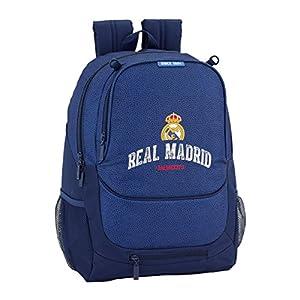 518yu0d3qzL. SS300  - Safta Mochila Escolar Real Madrid Basket Oficial 320x160x440mm