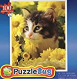 Kitten Blossoms 100 Pc Jigsaw Puzzle New