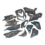Verkleidungskit STR8 komplett 14 Teile für Speedfight 2, flip-flop blau 50