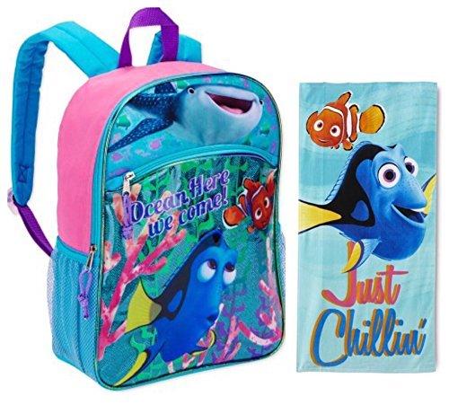 Kostüm Kleinkind Kitty Hello - Disney Findet Dorie Kinder-Rucksack-Set - großer Rucksack und Strandtuch