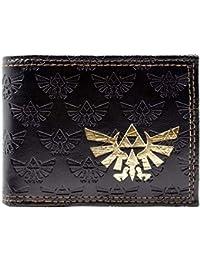 Cartera de Nintendo Zelda Triforce marrón