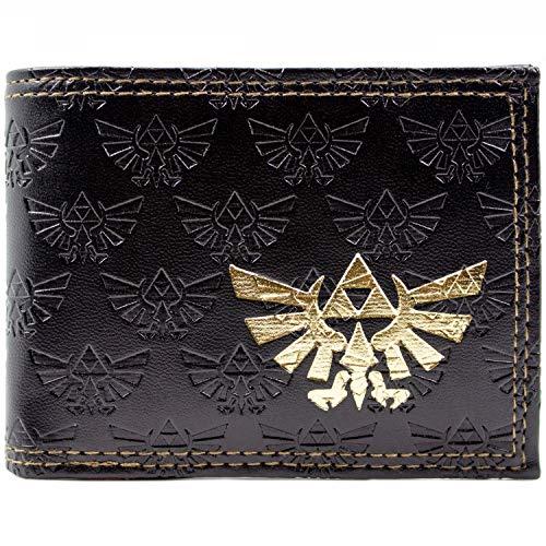 Nintendo Zelda Triforce Braun Portemonnaie Geldbörse