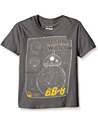 Star Wars Jungen T-Shirt Bb8 Schematic