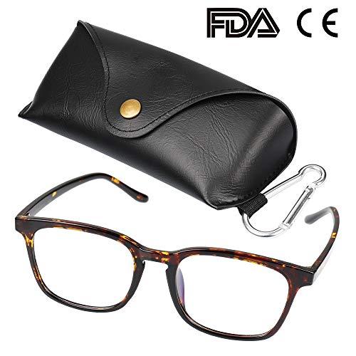 Blaulichtfilter brille, Lesebrille mit TR90-Rahmen, Computer-Lesebrille gegen Überanstrengung der Augen für Unisex
